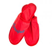 Тапочки-открытые-красные